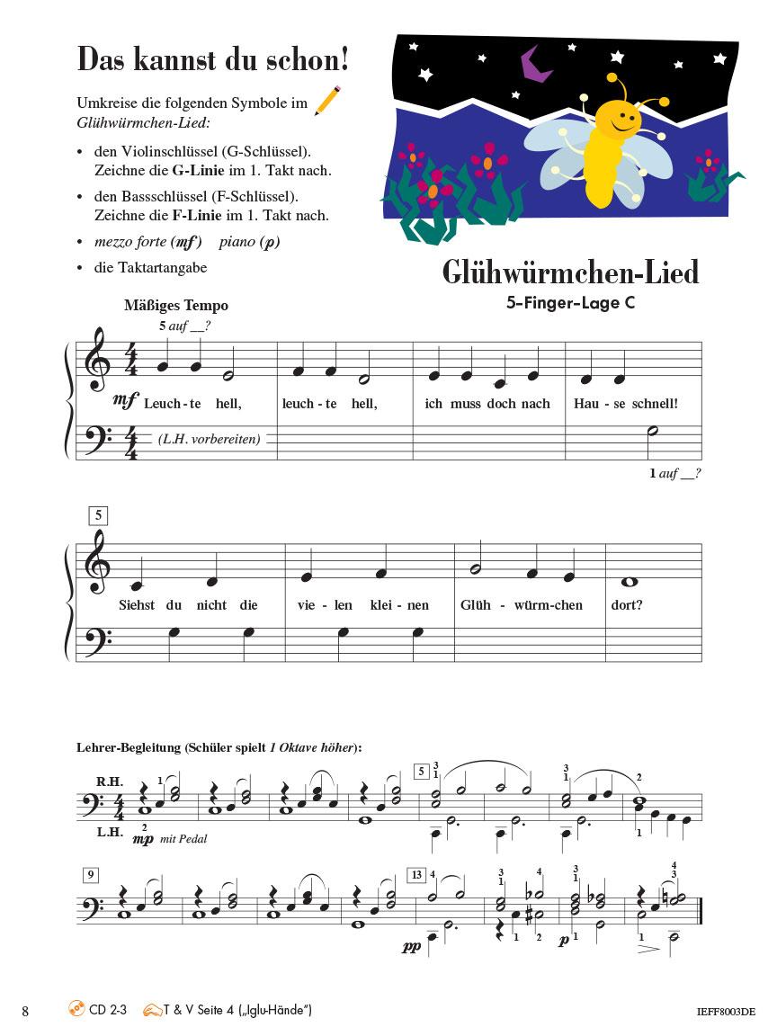 Piano Adventures® Stufe 2 Unterrichtsheft Seite 8