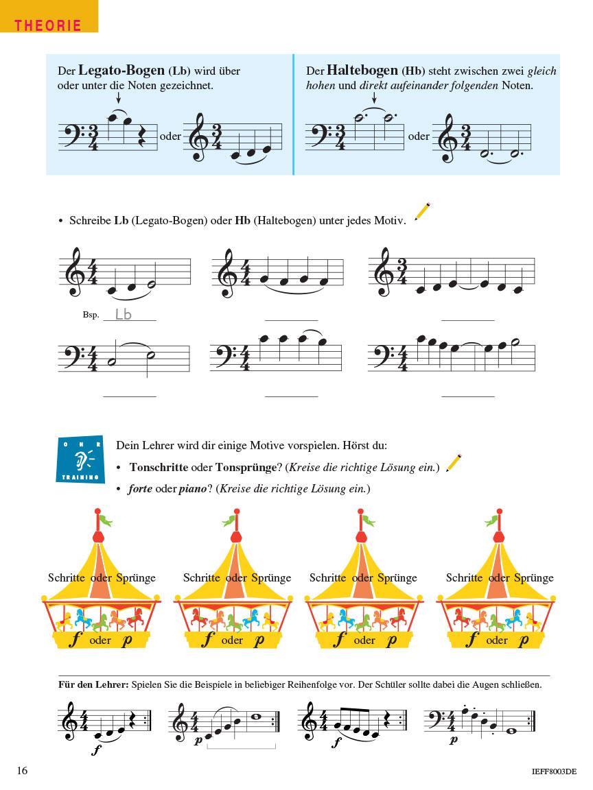Piano Adventures® Stufe 2 Unterrichtsheft Seite 16