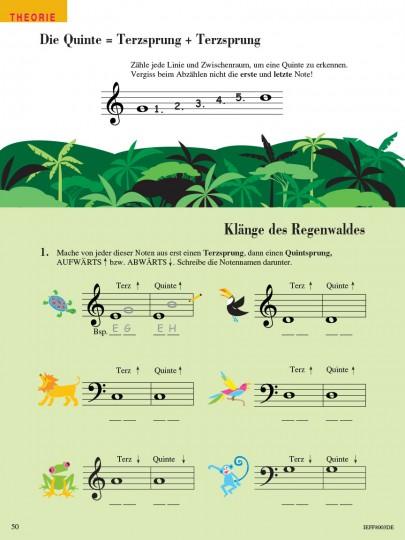 Piano Adventures® Stufe 2 Unterrichtsheft Seite 50