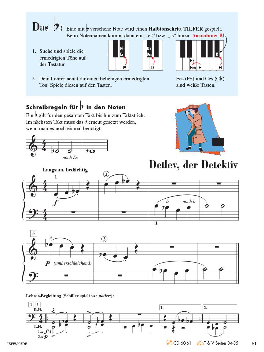 Piano Adventures® Stufe 2 Unterrichtsheft Seite 61