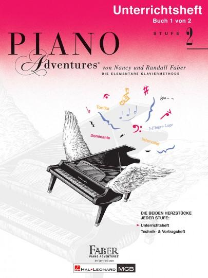 Piano Adventures® Stufe 2 Unterrichtsheft