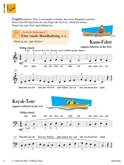 Piano Adventures® Stufe 2 Technik- & Vortragsheft Seite 6