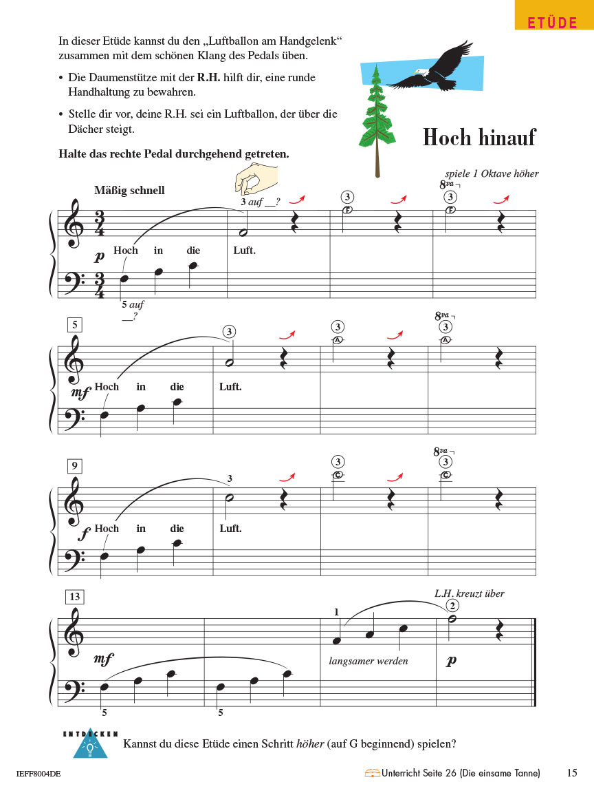 Piano Adventures® Stufe 2 Technik- & Vortragsheft Seite 15