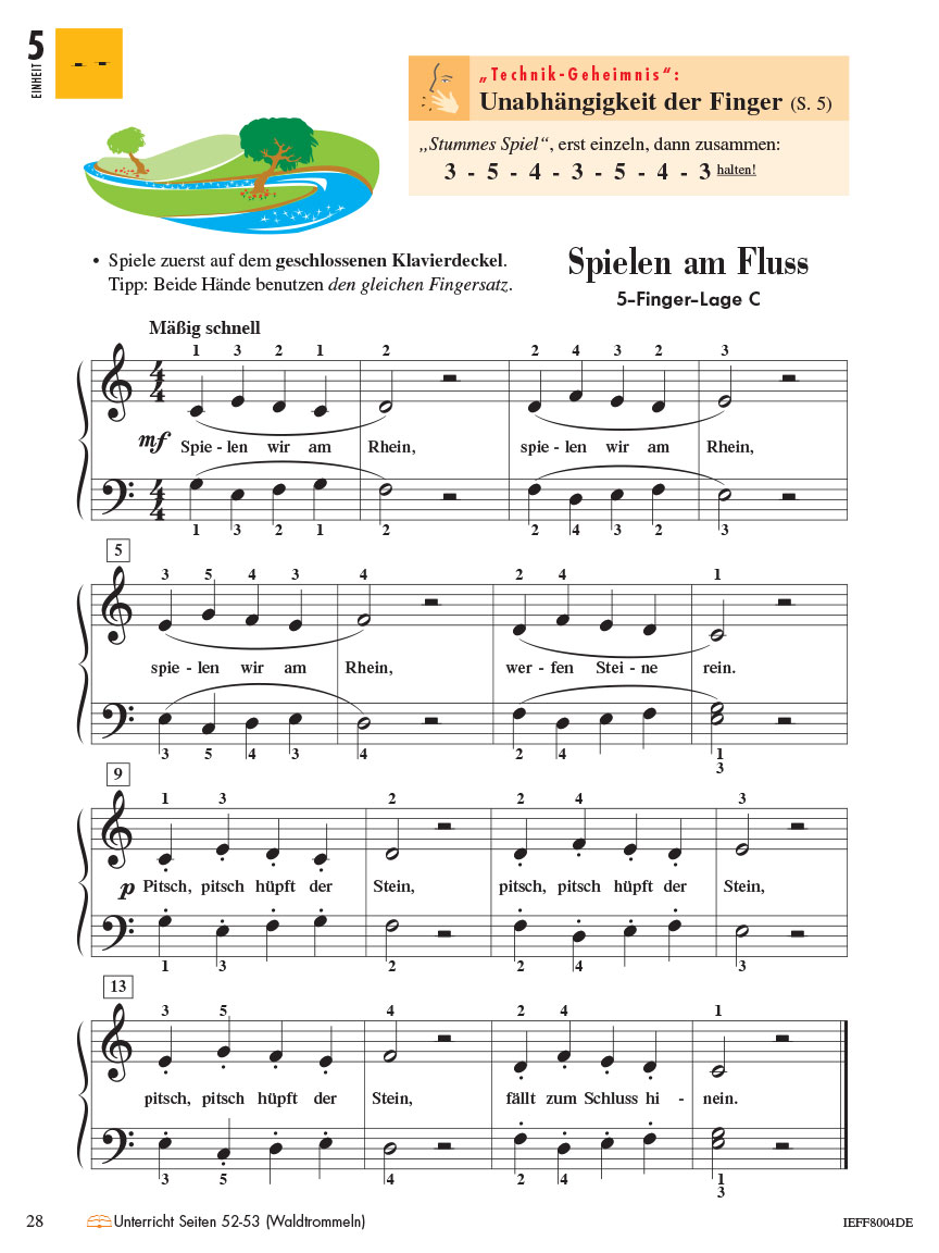 Piano Adventures® Stufe 2 Technik- & Vortragsheft Seite 28