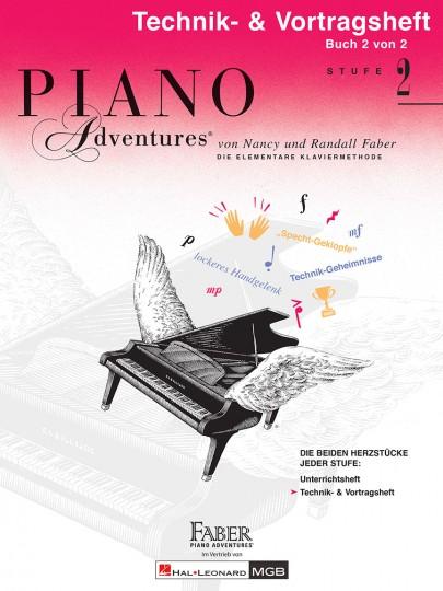 Piano Adventures® Stufe 2 Technik- & Vortragsheft