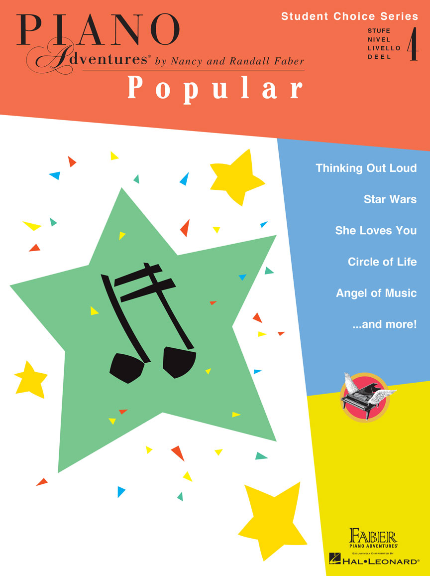 Piano Adventures Student Choice Popular Level 4