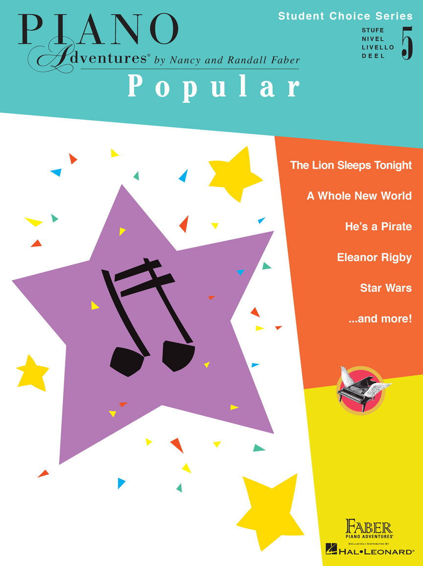 Piano Adventures Student Choice Popular Level 5