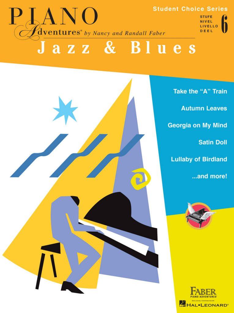 Piano Adventures Student Choice Jazz & Blues Level 6