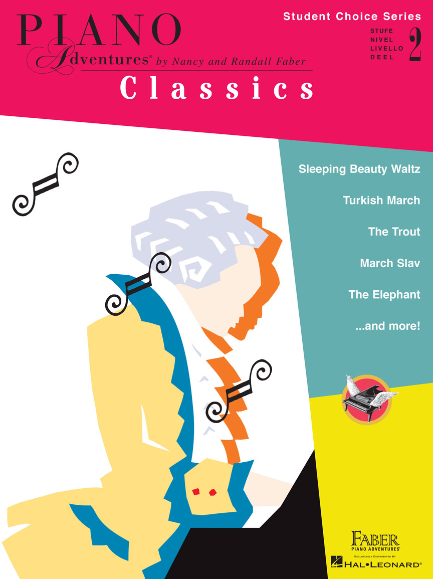 Piano Adventures Student Choice Classics Level 2
