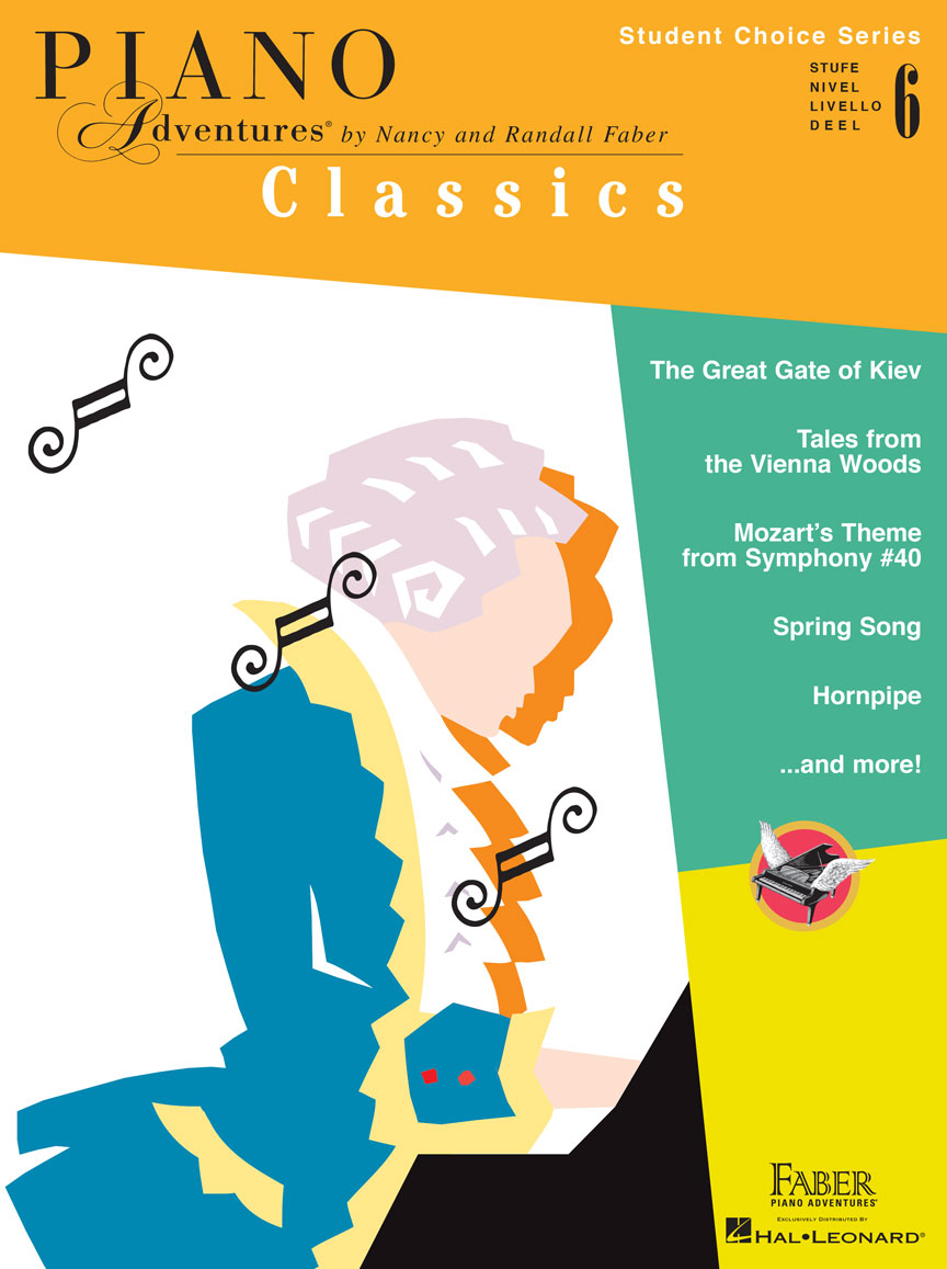 Piano Adventures Student Choice Classics Level 6