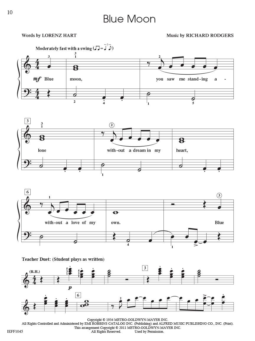 Piano Adventures Student Choice Jazz & Blues Level 3