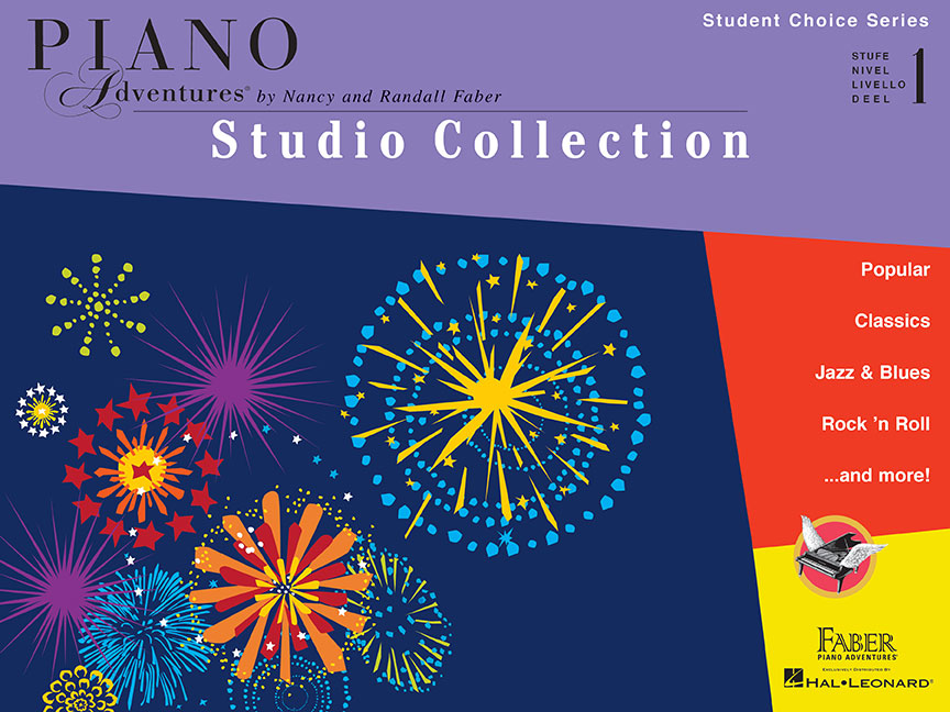 Piano Adventures Student Choice Studio Collection Level 1