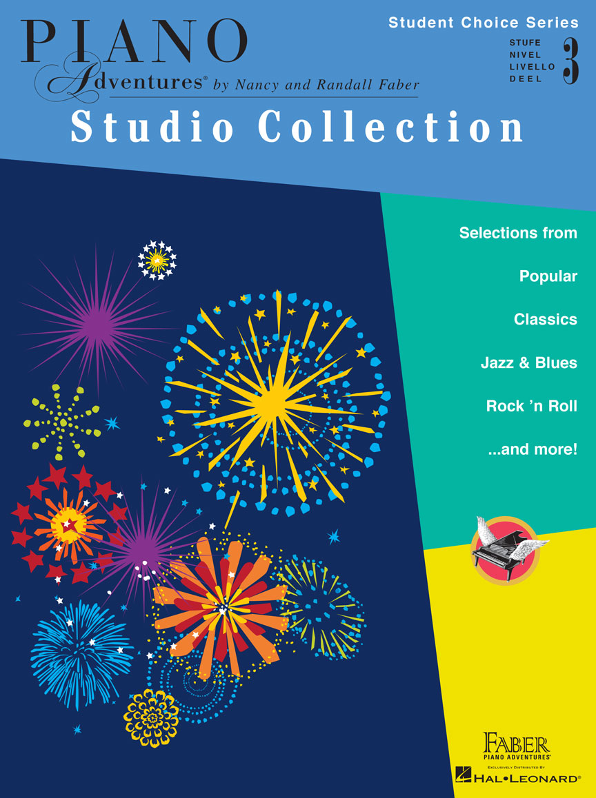 Piano Adventures Student Choice Studio Collection Level 3