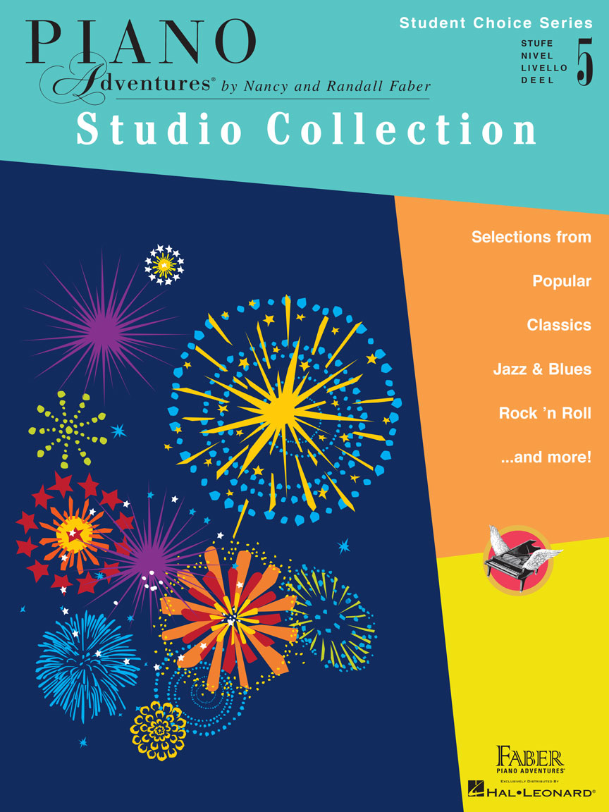 Piano Adventures Student Choice Studio Collection Level 5