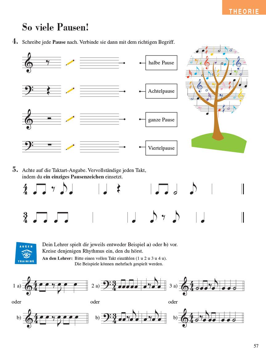Piano Adventures® Stufe 4 Unterrichtsheft