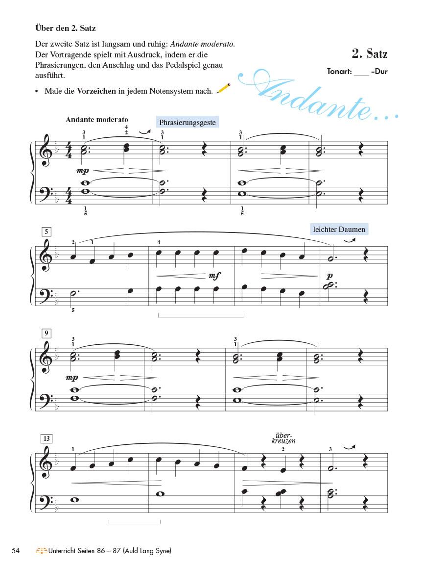 Piano Adventures® Stufe 4 Technik- & Vortragsheft