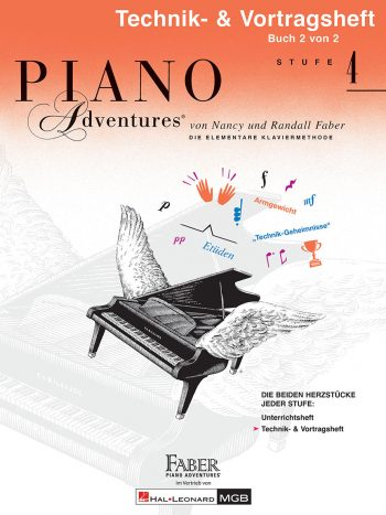 Piano Adventures® Stufe 4 Technik- & Vortragsheft