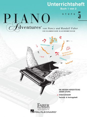 Piano Adventures® Level 5 Lesson & Theory Book