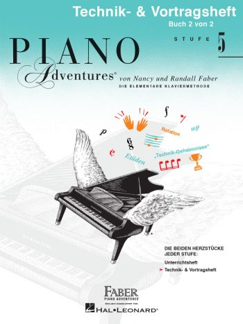 Piano Adventures® Level 5 Technique & Performance Book