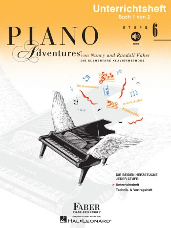 Piano Adventures® Level 6 Lesson & Theory Book